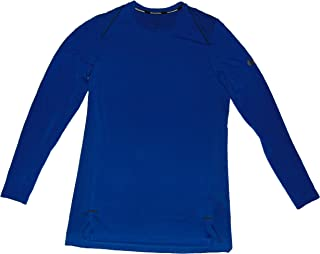 Dri Fit Hyper Elite Men's Long Sleeve Shirt Rayon Blue