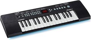 【Amazon限定ブランド】888M Alesis ポータブルキーボード スピーカー内蔵32鍵 300種類の音色、40曲のデモソング内蔵。USB-MIDI接続可能 Melody 32