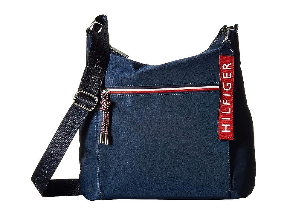 Tommy Hilfiger Lani Hobo (Tommy Navy) Handbags
