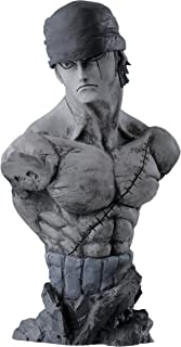 Banpresto 海贼王 6.3 英寸 Creator x Creator Rough Edges 罗罗诺亚·索隆的胸像 A