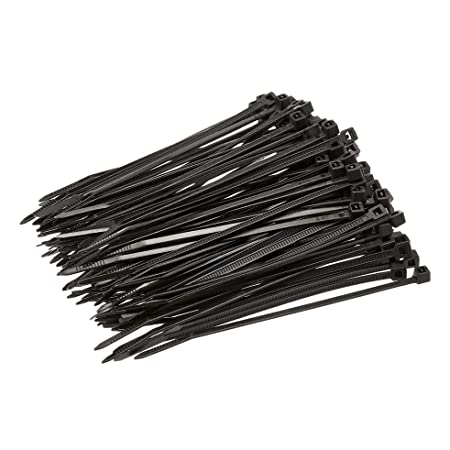 GW Fastener Products USA Corp 100 Piece Cable Tie 4.0 x 18 lbs GT-100MC Natural