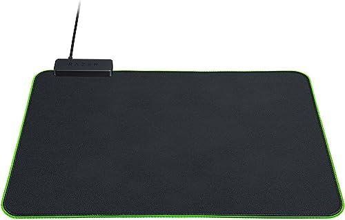 Razer Goliathus Chroma - Tapis de souris de jeu souple avec éclairage RVB (support de câble, surface en tissu, bord m...