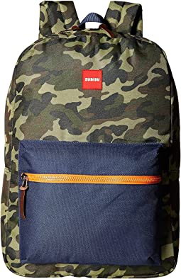 ZUBISU Camo Collaboration Large Backpack