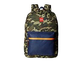 ZUBISU Camo Collaboration Large Backpack