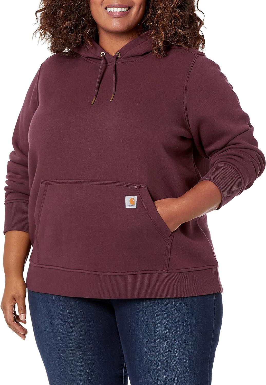 Carhartt Women's sold out Clarksburg Pullover Sweatshirt Selling rankings Plu and Regular