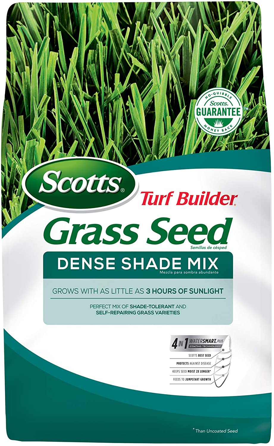 Scotts Soldering Turf Sale SALE% OFF Builder Grass Seed Dense Shade i Grows - Mix 7 Lb.