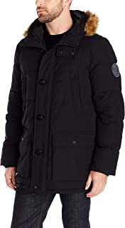 Men's Arctic Cloth Full Length Quilted Snorkel Jacket (Regular and Big and Tall Sizes)