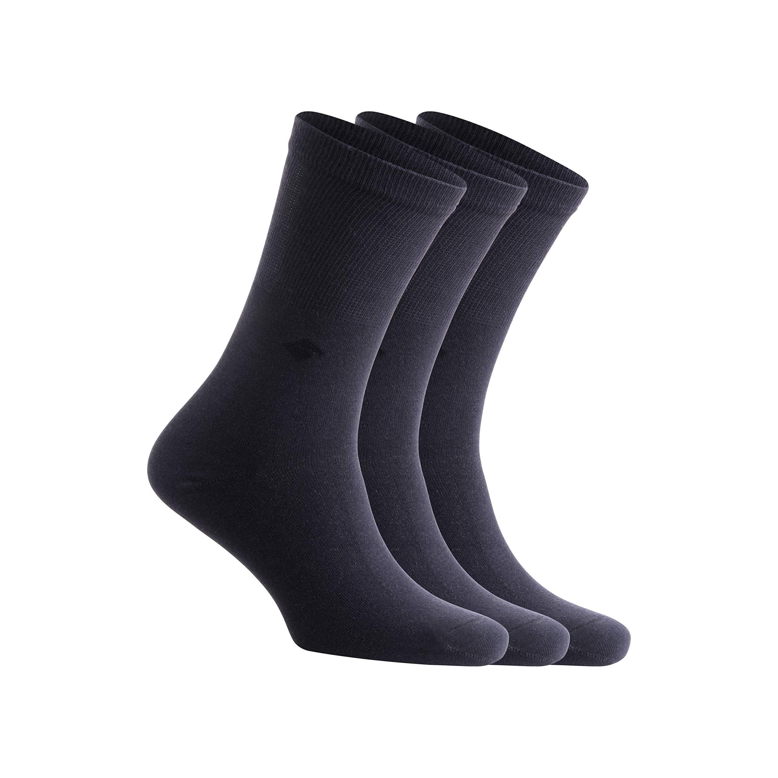 Best Buy 13% Pure Silver Socks Anti-Odor Antibacterial Anti-fungal Crew Dress Socks by Bonny Silver Reviews