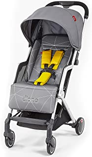 Diono Traverze, The Original Airplane Stroller, Grey Linear