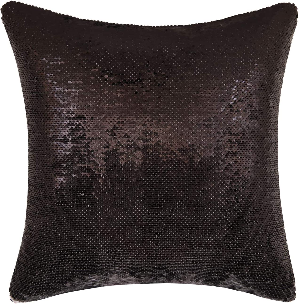 Magic Reversible Throw Pillow Case Without Insert Decor Change Color Pillowcase 16x16 Inches Black K T One Jurassic Park Jeff Goldblum Mermaid Sequins Pillow Cover
