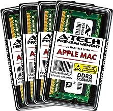 A-Tech 32GB Kit (4X 8GB) DDR3 1600MHz PC3-12800 204-pin SODIMM for Apple iMac (Late 2012, Late 2013, Late 2014 Retina 5K, Mid 2015 Retina 5K) - Max Memory RAM Upgrade