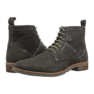 Ben Sherman Rugged Leather Boot (Grey Suede) Men