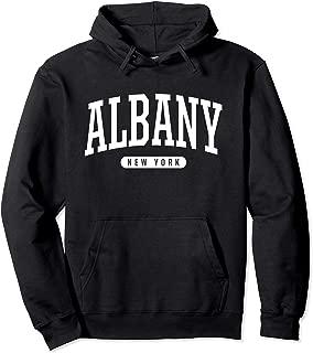 Albany Hoodie Sweatshirt College University Style NY USA.