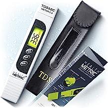 TDS Meter Digital Water Tester – ppm Meter, EC & Temperature Test Pen 3-in-1 |..