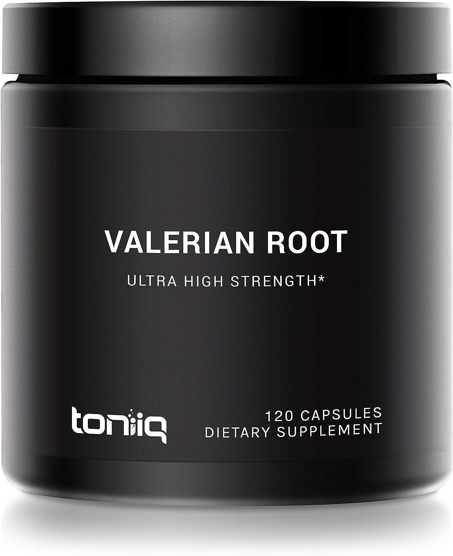 Ultra-High Strength Valerian Root Capsules - Sleep Aid