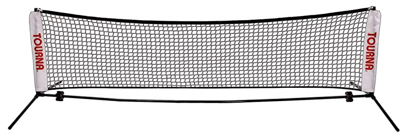 TOURNA 18-Foot Portable Tennis Net for Youth Tennis
