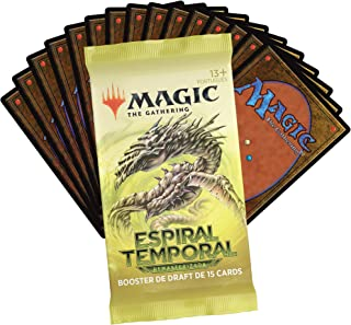 Magic The Gathering: Espiral Temporal Draft Booster   15 Cards   Produto em Português