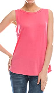 EttelLut Flowy Loose Fit Tank Tops - Workout Cool Relaxed Regular and Plus Size