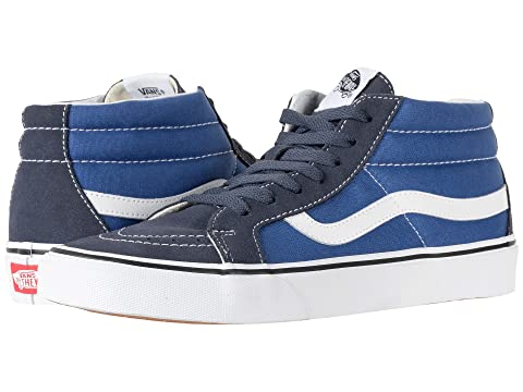 aa8eeec24b96a3 Vans SK8-Mid Reissue  a  - Parisian Night True Navy