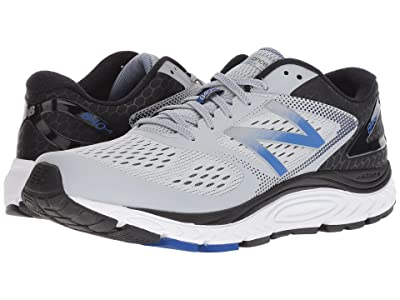 New Balance 840v4 (Silver Mink/Team Blue) Men