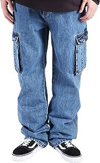 (バレッタ) Valletta メンズ KINGサイズ デニム カーゴパンツ ビッグ ワイドパンツ 大きいサイズ [メンズ]