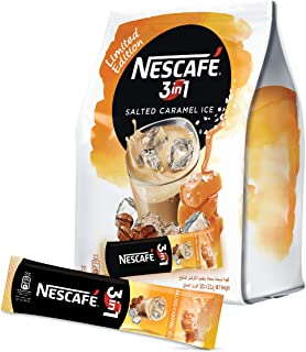 Nescafe 3in1 Salted Caramel Ice Coffee Instant Mix Sachet, 21g (20 Sachets)