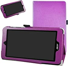 Acer B1-780 / B1-790 Case,Mama Mouth PU Leather Folio 2-Folding Stand Cover with Stylus Holder for 7