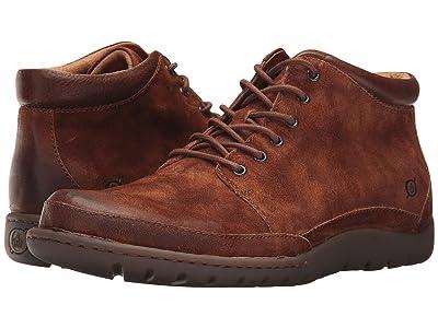 Born Nigel Boot (Rust/Brown Combo) Men