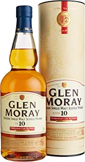 Glen Moray 10 Years Old Chardonnay Cask Special Reserve mit Geschenkverpackung Whisky 1 x 0.7 l