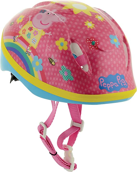 Peppa Pig Safety Helmet MV Sports Head Size 48-54cm