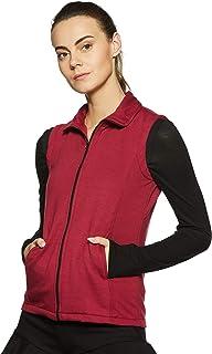 Belle Fille Women's Fleece Jacket (XL, Red)