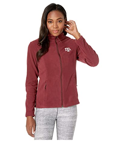 Columbia College Texas AM Aggies CLG Give and Gotm II Full Zip Fleece Jacket (Deep Maroon) Women
