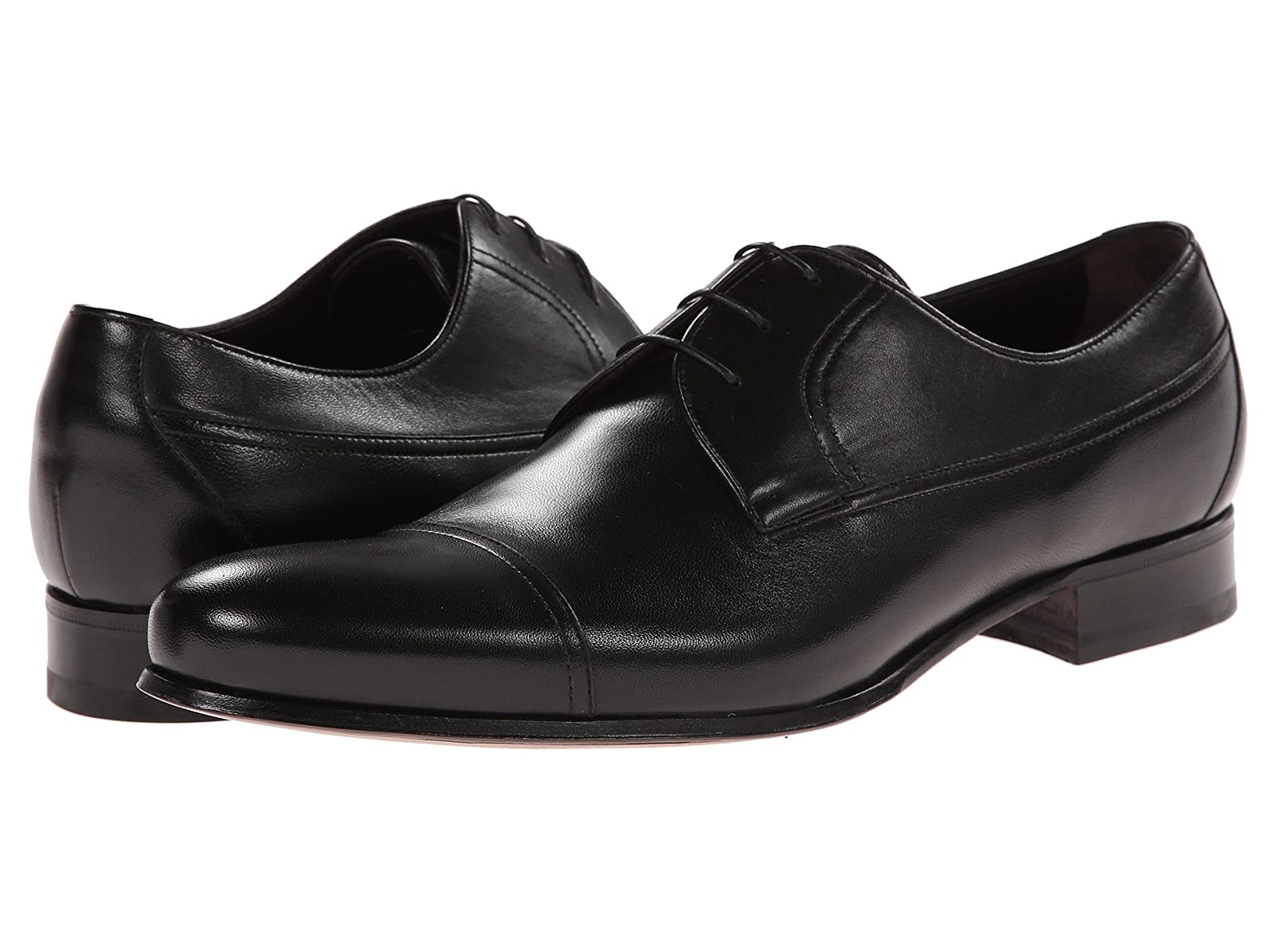 a. testoni Nappa Lace Up Oxford Cap ToeAffordable and distinctive shoes