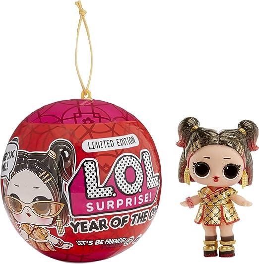 LOL Surprise בובת שנת השור או חיית מחמד עם 7 הפתעות, בובה - 574750
