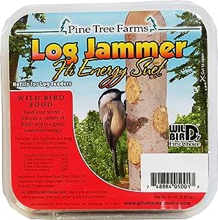 Pine Tree 5001 Log Jammer High Energy Suet Plug,net wt 9.4oz
