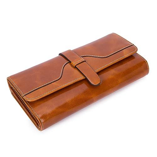 b3a83af00e2 Tan Leather Purse: Amazon.co.uk