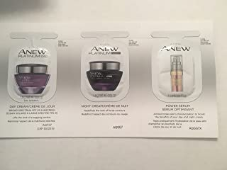 SET OF ANEW PLATINUM SAMPLES DAY AND NIGHT AND POWER SERUM/2 PACK
