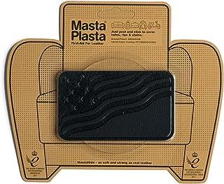 MastaPlasta Self-Adhesive Patch for Leather and Vinyl Repair, U.S. Flag, Black - 4 x 2.4 Inch