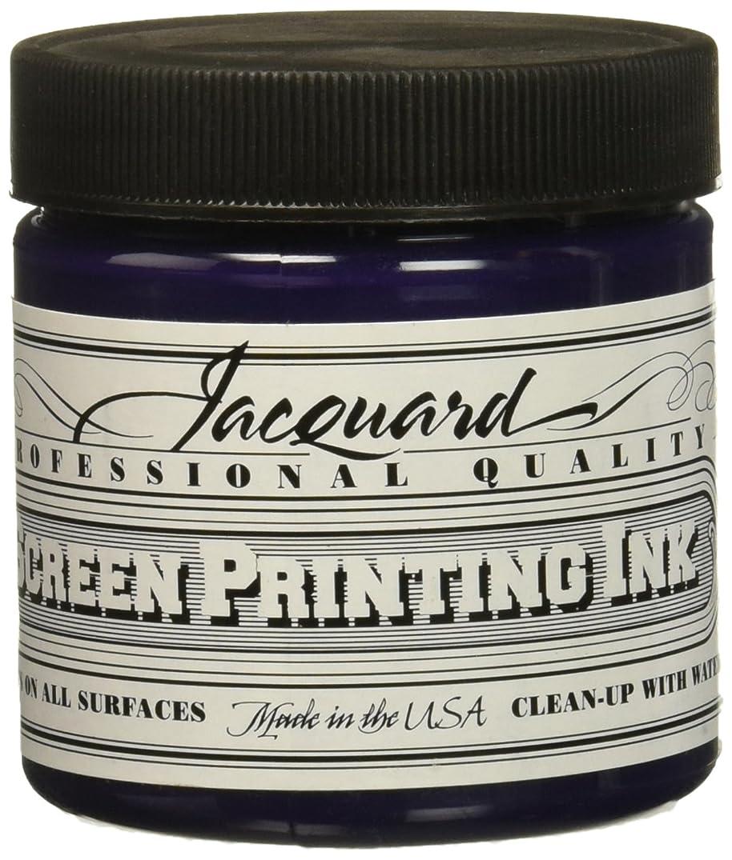 Jacquard JAC-JSI1108 Screen Printing Ink, 4 oz, Violet