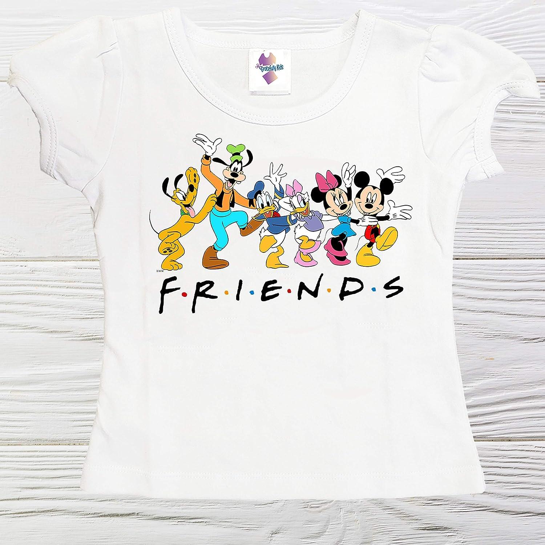Friends shirts Mickey and Minnie shirt unisex Japan's largest assortment girls