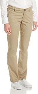 Dickies Girl Junior's Curvy 4 Pocket Straight Leg Pant