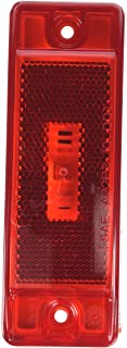 Grote 47072 SuperNova Sealed Turtleback II LED Clearance Marker Light (Built-in Reflector, Male Pin)