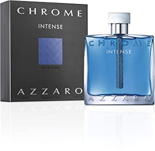 Azzaro Chrome Intense - perfume for men, 100 ml - EDT Spray