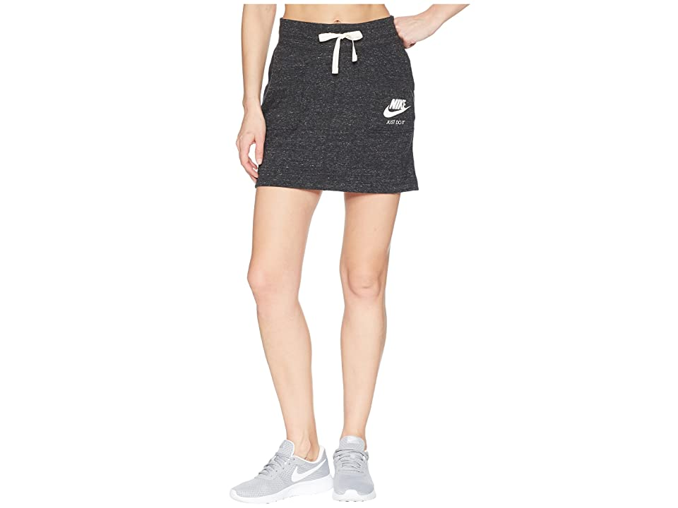 Nike Sportswear Gym Vintage Skirt (Black/Sail) Women