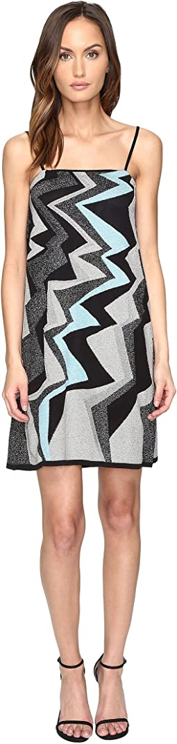 Lurex Lightning Intarsia Dress