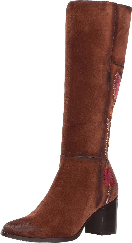 Frye Womens Nova Flower Tall Boot