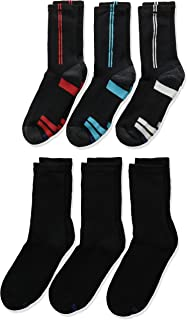 Hanes Boys' 12-Pairs EZ Sort Crew Socks