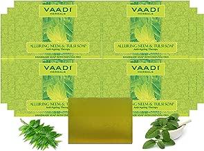 Vaadi Herbals Alluring Neem Tulsi Soap, 75g (Pack of 12)