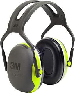 3M Personal Protective Equipment 3M Peltor X4A Over-the-Head Ear Muffs, Noise Protection,..