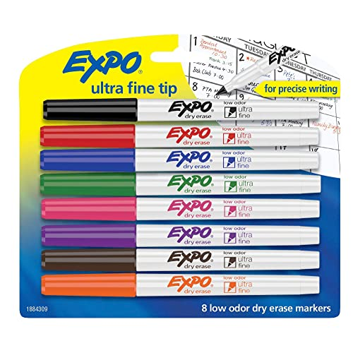 Extra Fine Point Dry Erase Markers: Amazon.com